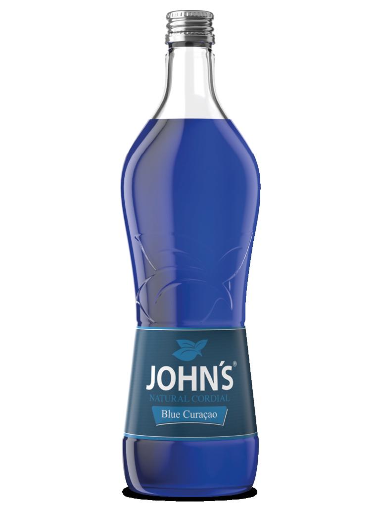 JOHN'S Blue Curaçao - Der Klassiker der 1980er-Jahre neu aufgelegt. Eignet sich für den Swimming Pool.