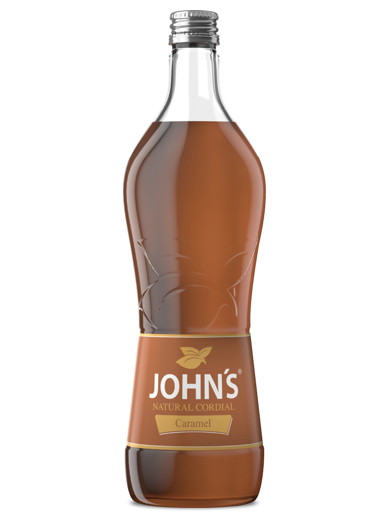 JOHN'S Caramel - Unverwechselbares würzigsüßes Geschmacksprofil. Zaubert einen leckeren Caramel Smoothie.