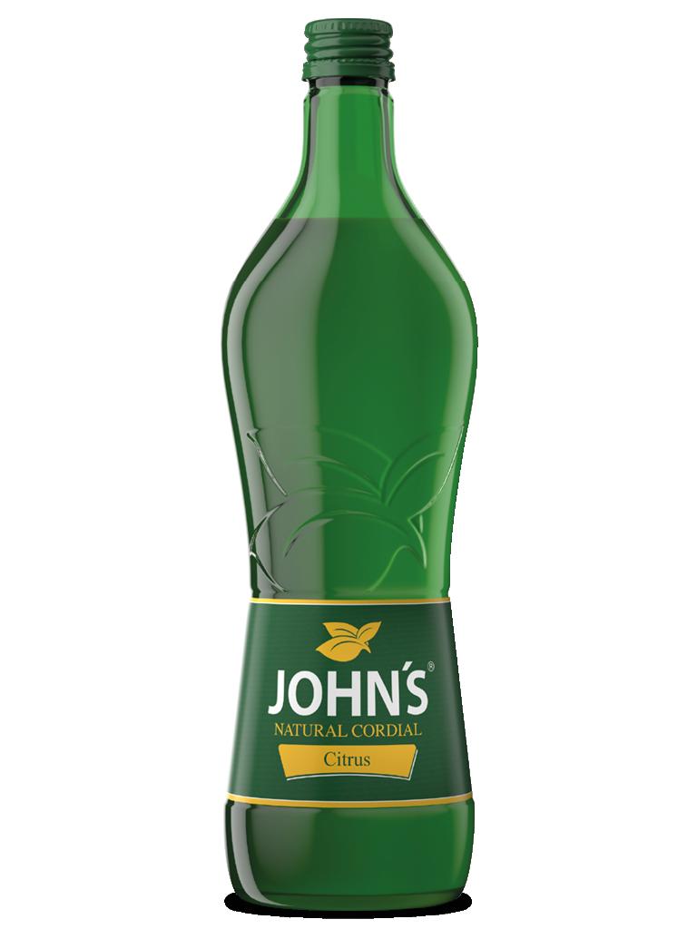 JOHN'S Citrus - Klarer und frischer Geschmack reifer Zitronen. Verfeinert wunderbar den Margarita.
