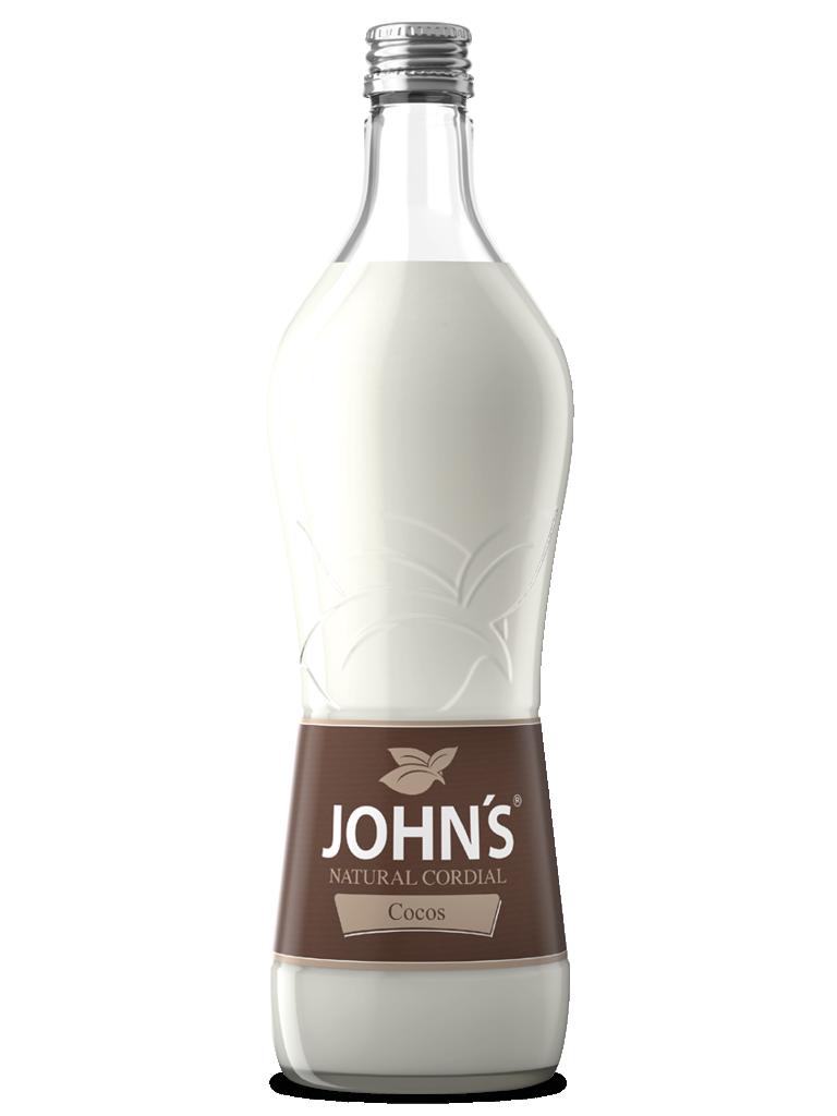 JOHN'S Cocos - Erfrischende, feine Extrakte der Kokosnuss mit süßen Akzenten. Ideal für den Piña Colada.