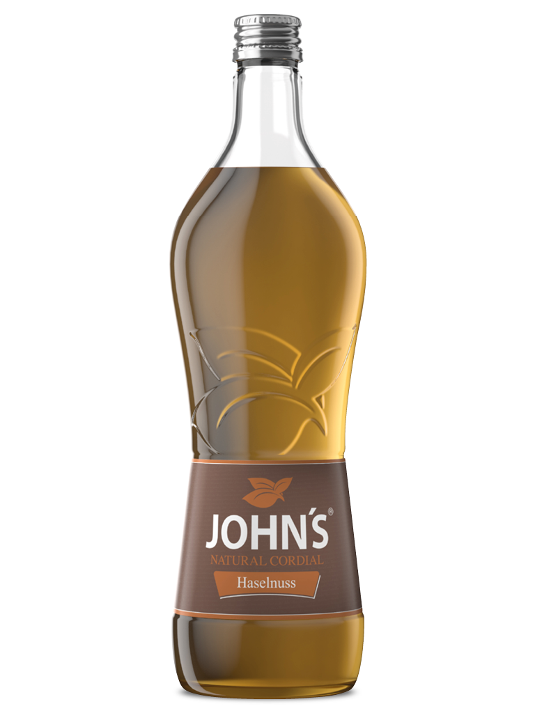 JOHN'S Haselnuss - Kräftige Haselnussnote für warme und kalte Drinks. Super für den Hazelnut Julep.