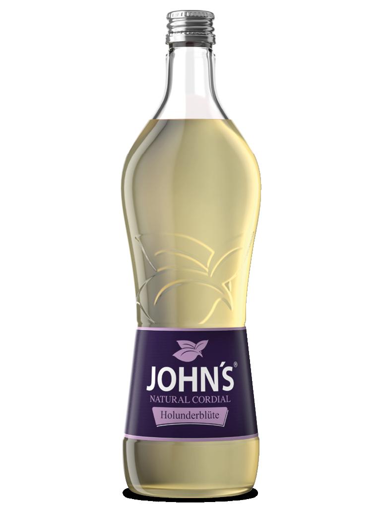 JOHN'S Holunderblüte - Der markante Trendgeschmack, der zum Klassiker geworden ist. Perfekt für den Hugo.