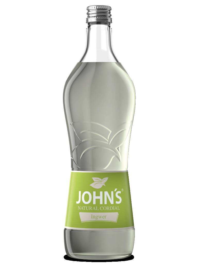 JOHN'S Ingwer - Gibt jeder Drink-Kreation die nötige Schärfe. Passend für einen Moscow Mule.