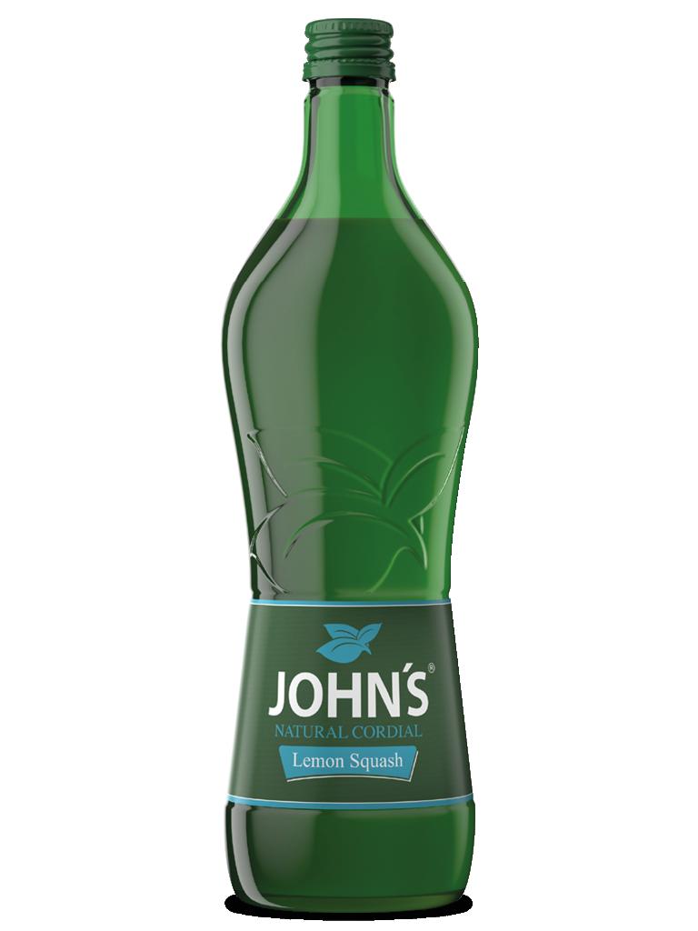 JOHN'S Lemon Squash - Der optimale Akzent für erfrischende Sourness. Super für den Tequila Sunrise.