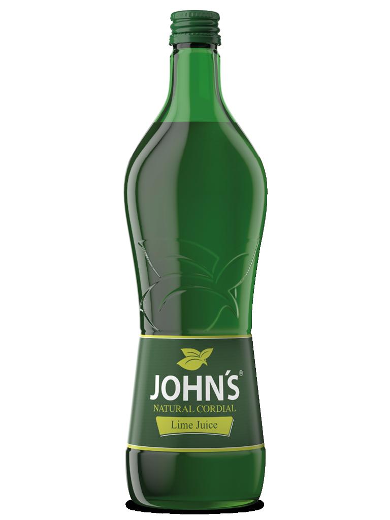 JOHN'S Lime Juice - Der beste Cordial Mixer, um den Geschmack perfekt anzuheben. Ideal für den Caipirinha.