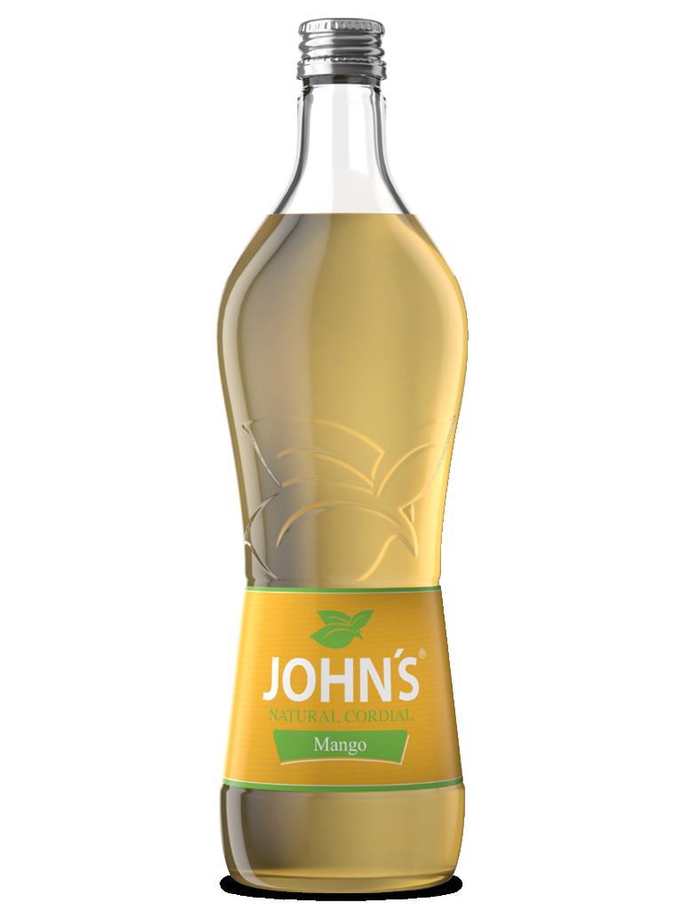 JOHN'S Mango - Ein exotisch-süßes Geschmackserlebnis mit einem leicht säuerlichen Abgang. Ideal für den Apricot-Mango Martini.