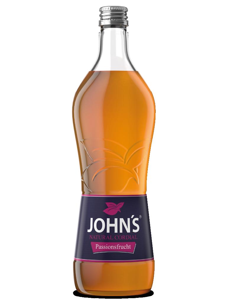 JOHN'S Passionsfrucht - Die exotische Komponente mit fruchtig-herbem Hintergrund. Ideal für den Hurricane.