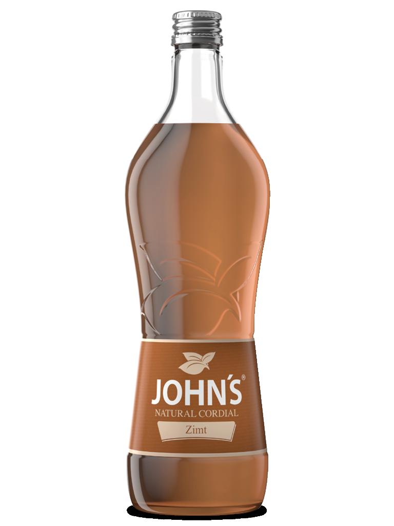JOHN'S Zimt - Verleiht jedem Getränk einen markanten Zimtgeschmack mit leichter Pfeffernote. Wie zum Beispiel dem Zimt Cappuccino.